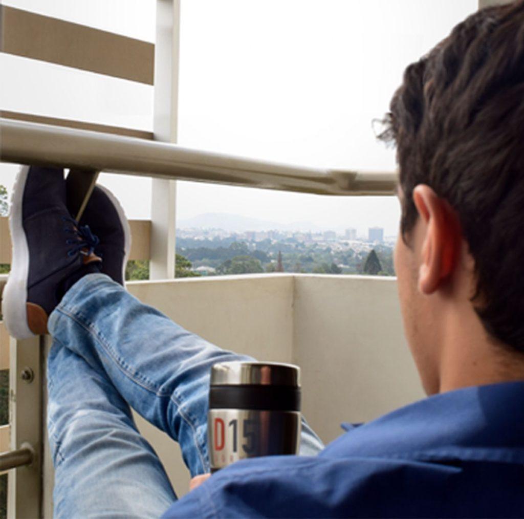 Balcon habitación