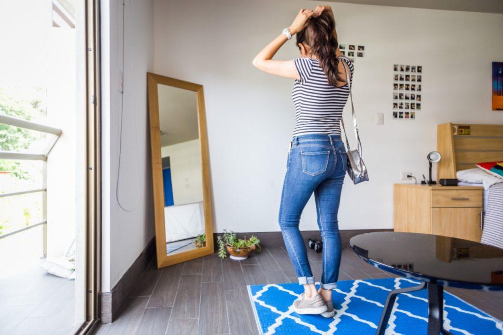 espacio en habitación individual